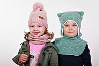 Вязаные шапочки и наборы