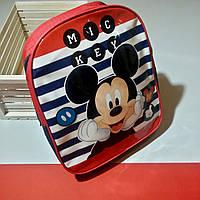 Рюкзак дошкольный детский для мальчика 2-5 лет Микки Маус