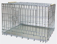 """Клетка Лори """"Вовк 3"""" для собак металлическая  78 x 124 x 71 см"""