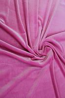 Велюр стрейч тонкий розовый, фото 1