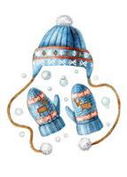 """Поштова листівка """"Зимовий одяг"""", фото 1"""