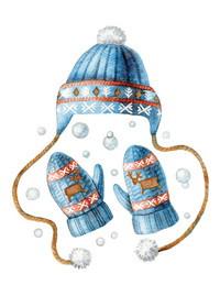 """Почтовая открытка """"Зимняя одежка"""", фото 1"""