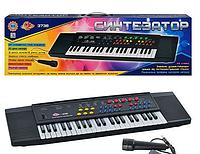 Детское Пианино Синтезатор с микрофоном