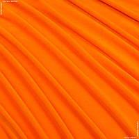 Велюр стрейч тонкий оранжевый