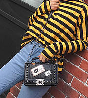 Женская сумка Kiss на цепочке