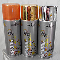 Краска аэрозольная с эффектом хрома СЕРЕБРО NewTon 400мл