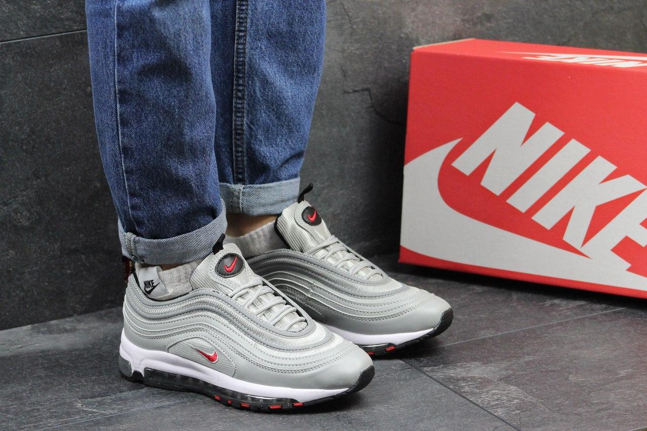 Кроссовки Nike 97 женские (серые), ТОП-реплика