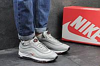 Кроссовки Nike 97 женские (серые), ТОП-реплика, фото 1