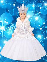 СНІГОВА КОРОЛЕВА карнавальний костюм ДеЛюкс