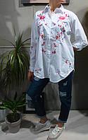 Рубашка Женская Вышиванка Белая