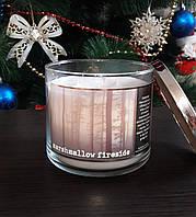 Большая свеча с ароматом зефира Bath&Body Works Marshmallow Fireside