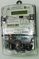 Счетчик ЛЕБ-Д1.О5-Р 1,0 220В 5(60)А 1-фазный электронный с ЖКИ, индикатор (Р), имп. выход, реле 80А  (Укр)