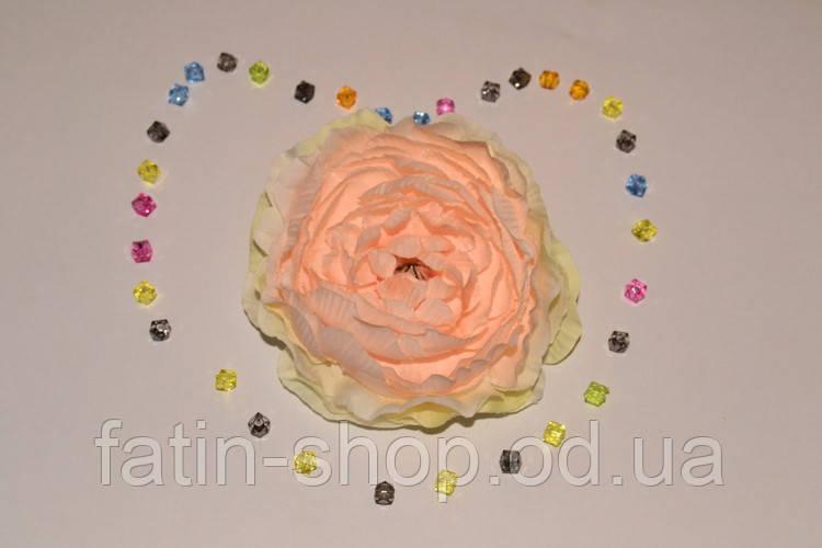 Головка Камелии цв.персиковый