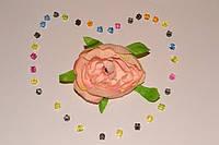 Головка Камелии цв.пастельно-розовый