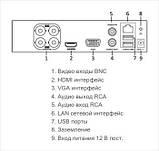 16-канальный Turbo HD видеорегистратор Hikvision DS-7116HQHI-K1, фото 3