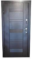 Двери входные металл/мдф (коричневая)