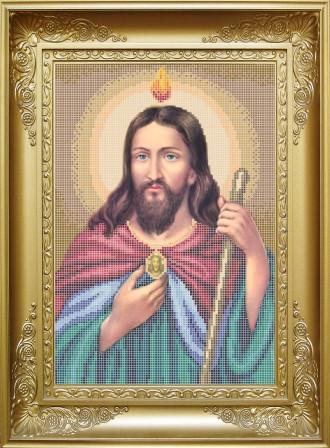 КРМ-3. Схема для вишивки бісером Святий Апостол Юда-Тадей.