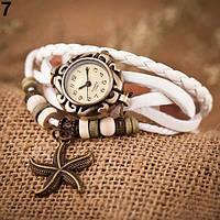 Часы ретро+ кож.браслет