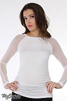 Лонгслів для вагітних (Лонгслив для беременных) Lora light LS-25.013, фото 1