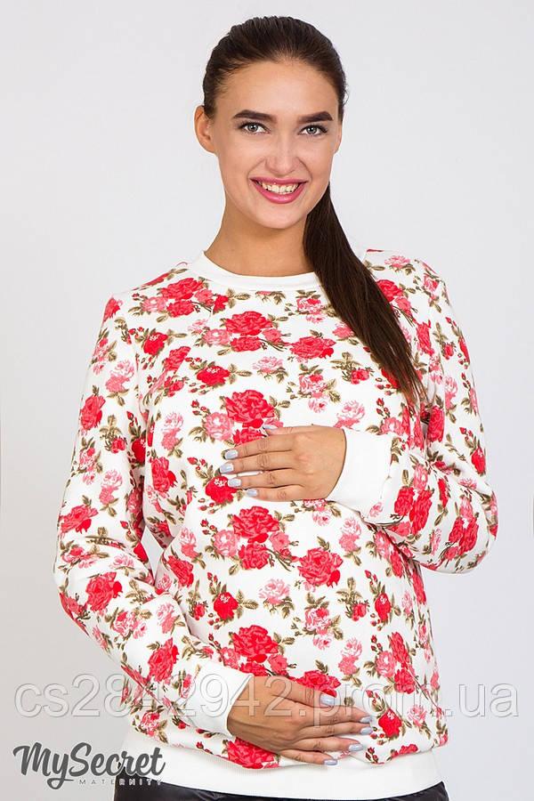 Світшот для вагітних і годуючих (свитшот для беременных и кормящих) Chiara теплая SW-46.052