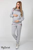 Спортивні штани для вагітних (спортивные брюки для беременных) Noks SP-37.042