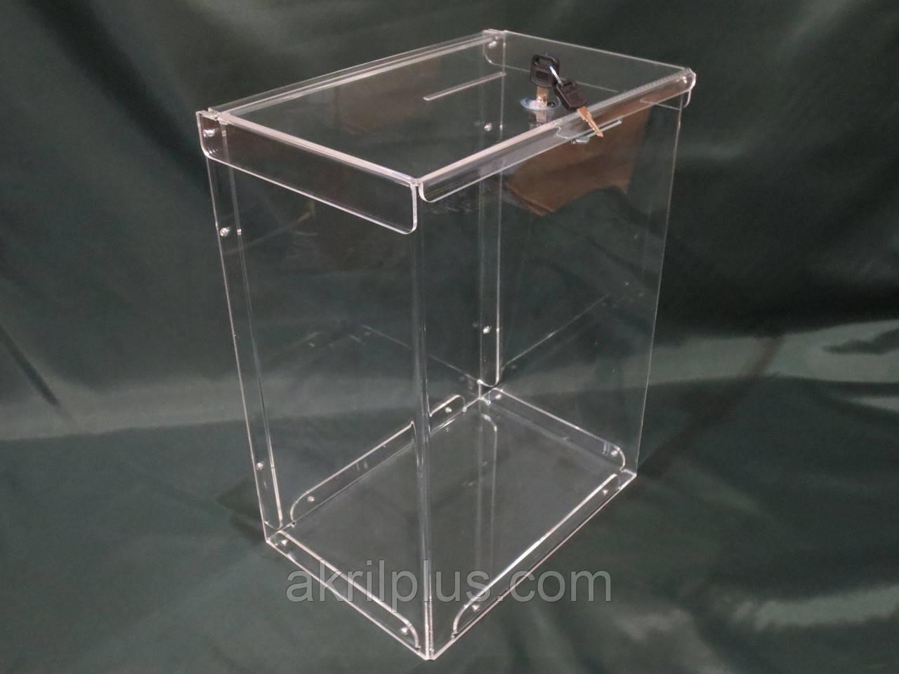 Ящик для благотворительности 300*375*250 мм