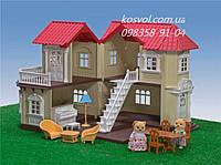 Веселый домик-ферма с животными(флоксовые)