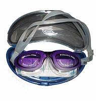 Очки для плавания, силикон. SG800