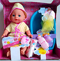 "Пупс Baby born с ванночкой! пупс ""Веселое купание"", Бейби борн, Бэби борн"
