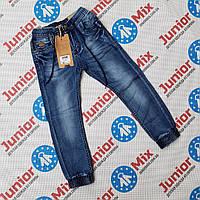 Детские джинсы для мальчиков на манжете оптом GRACE, фото 1