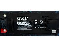 Аккумулятор BATTERY GEL 12V 200A UKC батарея гелевый аккумулятор
