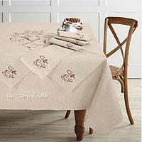 Скатертину на кухонний стіл і серветки 150x150