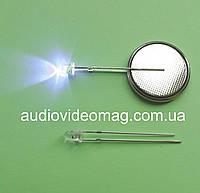 Светодиод 3V 3 мм мигающий, цвет синий