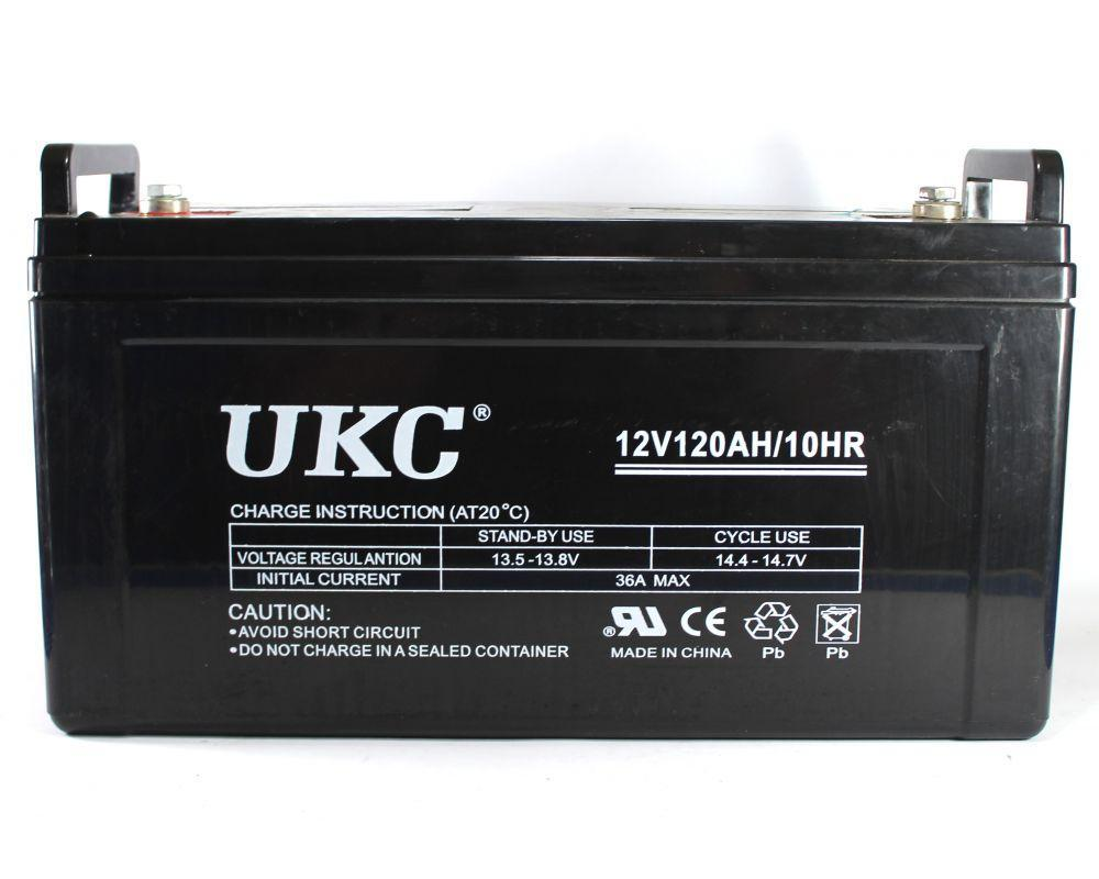 Аккумулятор BATTERY GEL 12V 120A UKC