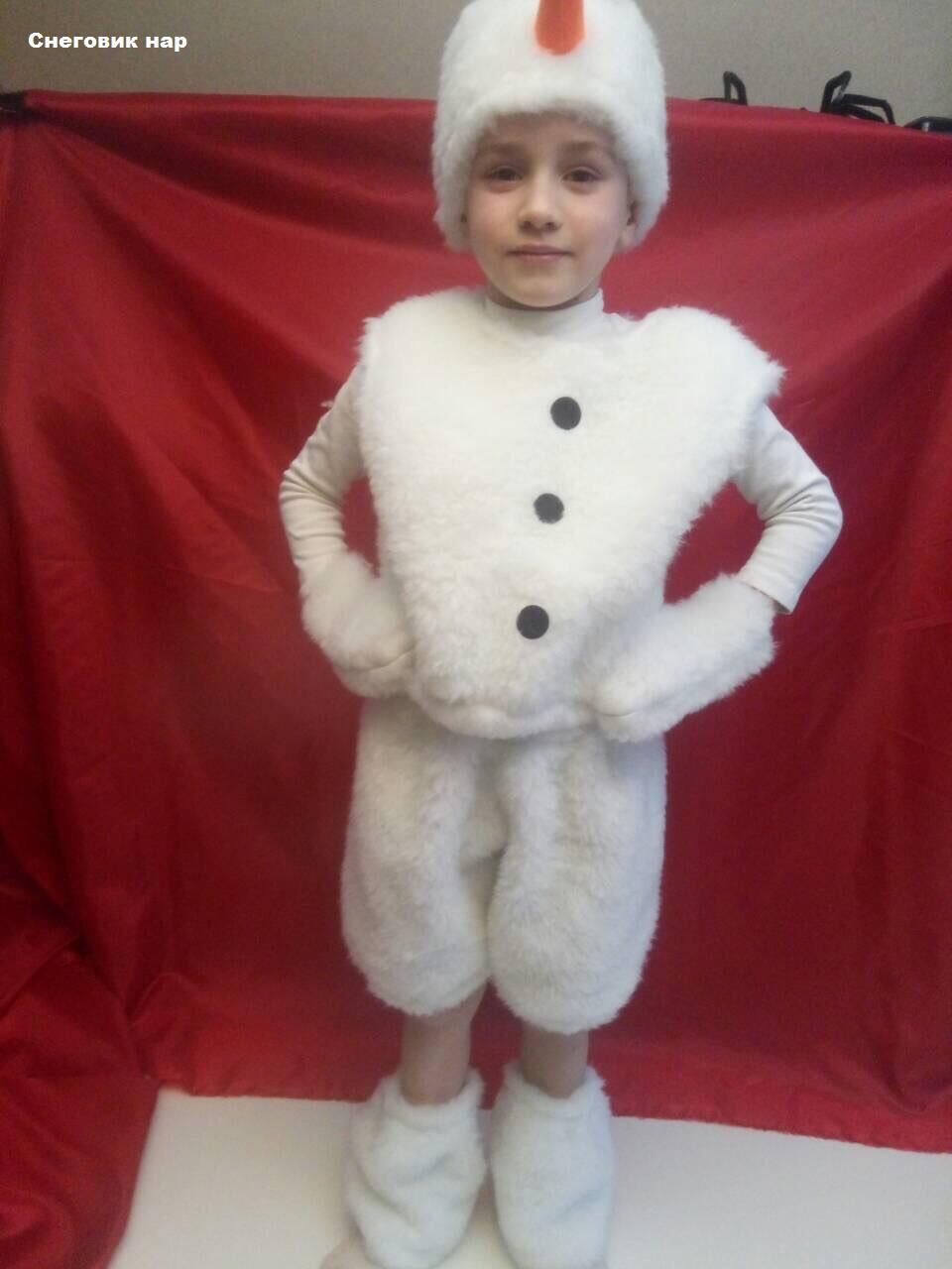 Новогодний костюм Снеговик нар, фото 1