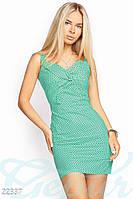 Облегающее хлопковое платье Gepur 22337