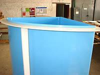 Купель, бассейн угловой пластиковый