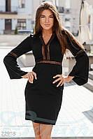 Нестандартное офисное платье Gepur 22918