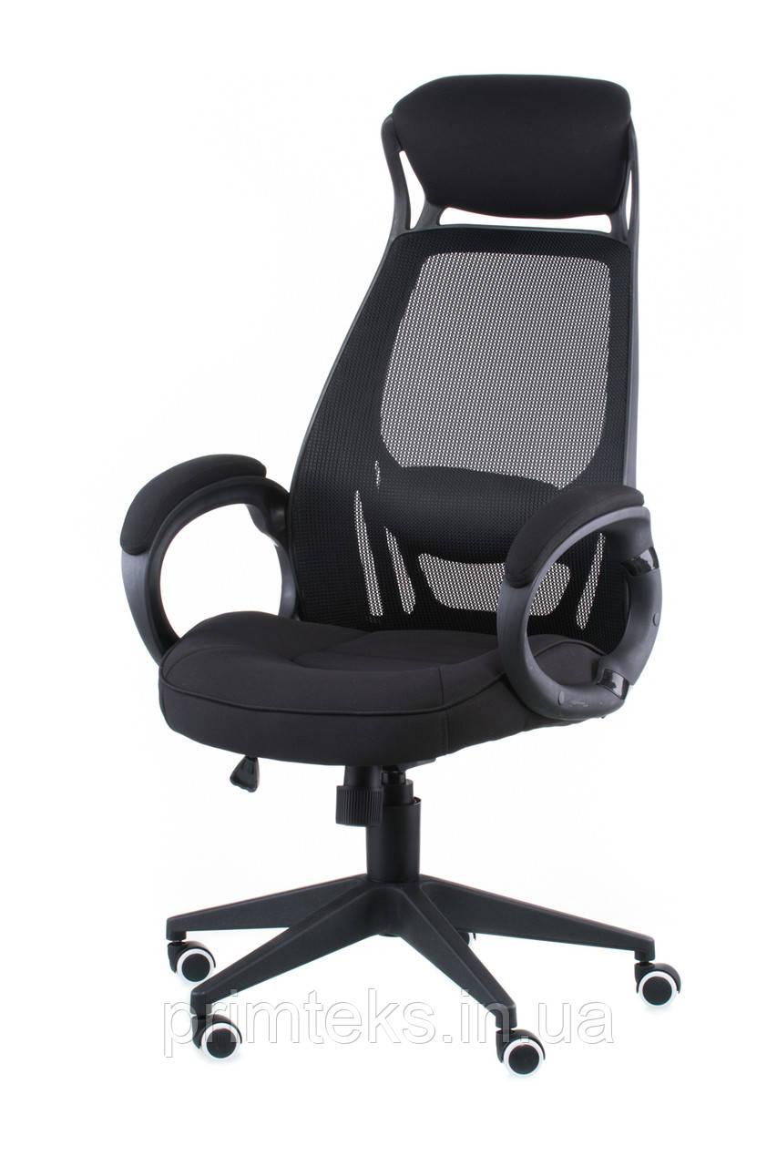 Крісло офісне Briz black fabric