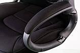 Крісло офісне Briz black fabric, фото 5