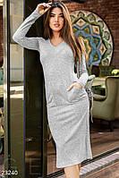 Удобное ангоровое платье Gepur 23240