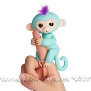 Happy Monkey - интерактивная обезьянка на палец Зоя