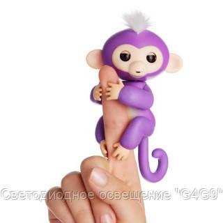 Happy Monkey - интерактивная обезьянка на палец Мия