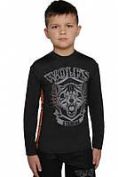 Детский рашгард для единоборств Berserk MMA Kids WOLFS STAMINA