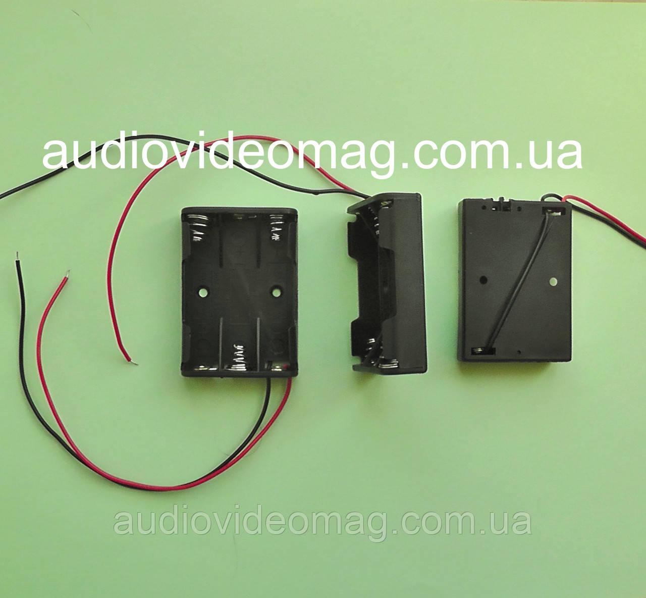 Отсек для 3 ААА (микропальчиковых) батареек