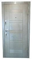 Двери входные металл/мдф (белая)