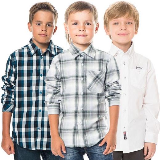 Рубашки, поло, обманки для мальчика