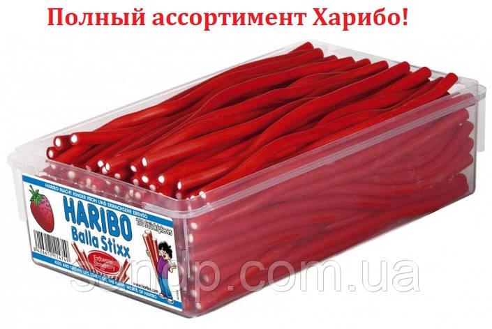 Клубничные палочки Харибо Haribo 1125гр. 150шт., фото 2