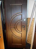 Входные двери для улицы серия Оптима Плюс модель 201 дуб золотой
