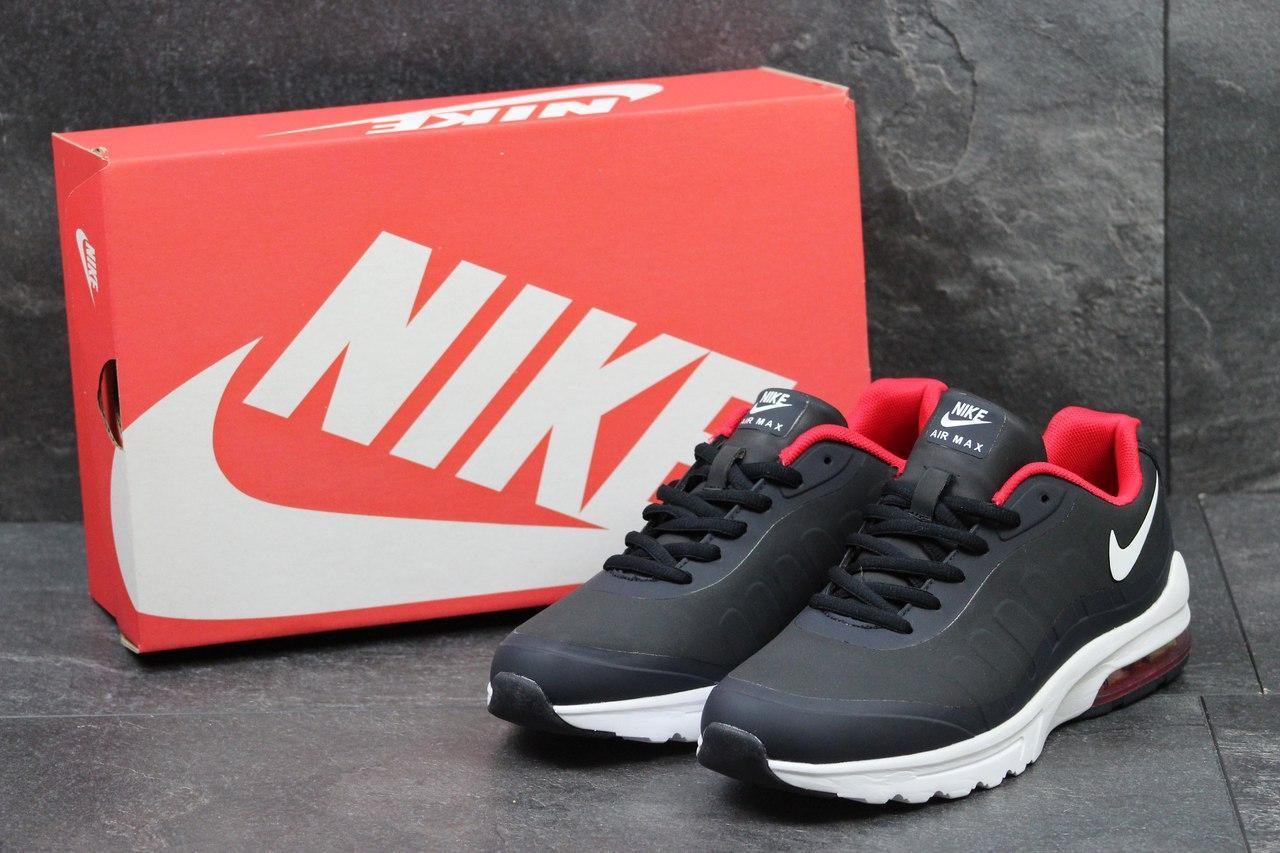 Кроссовки Nike AirMax мужские (темно-синие), ТОП-реплика